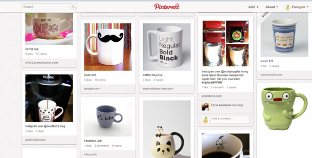 cool Pinterest board coffee mugs