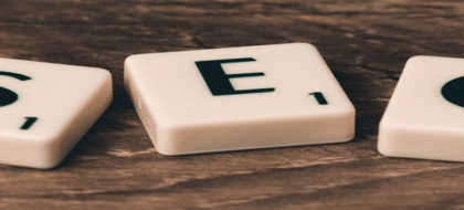 scrabble tiles that spell SEO