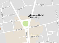 Directions to Paragon Digital Marketing offices.