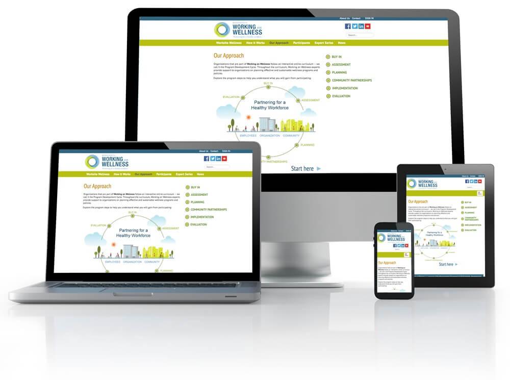 screenshot of a website.