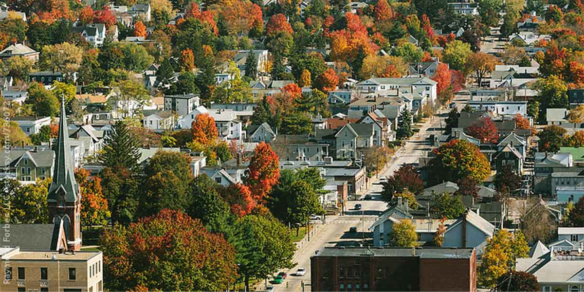 small town in New England