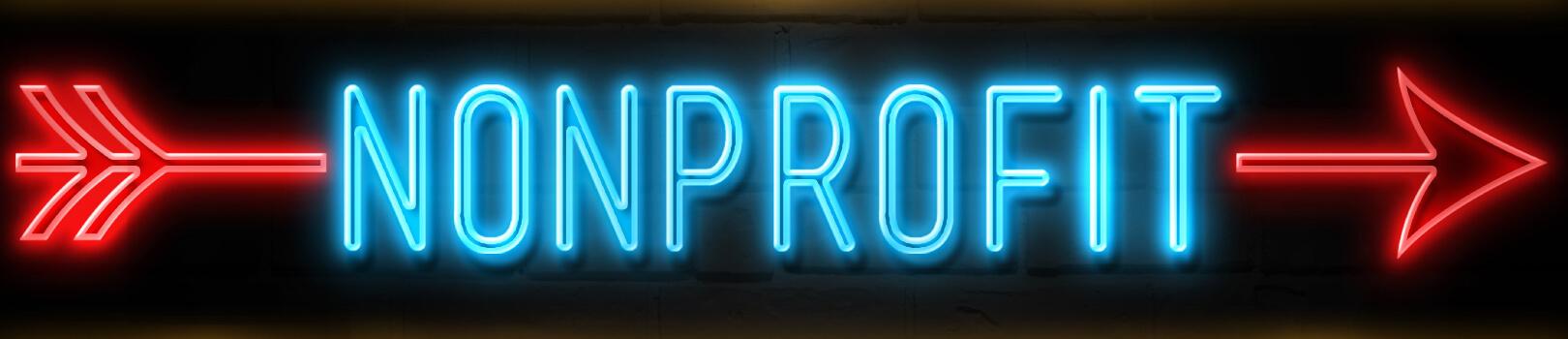 Nonprofit sign