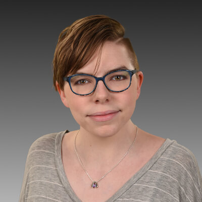 Web developer Alyssa Kervin