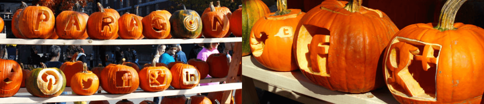 Paragon Carves Some Pumpkins for Keene Pumpkin Fest